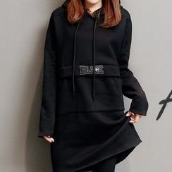 Coolvibe - Long-Sleeve Hooded Long Top