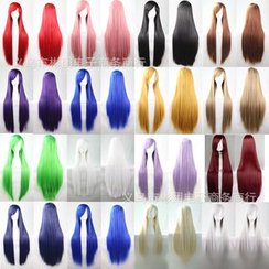 Wigstar - Long Full Cosplay Wig - Straight