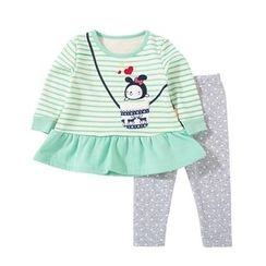 Tinsino - Baby Set: Printed Pullover + Leggings