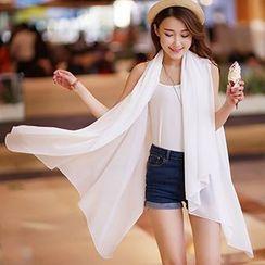 Rita Zita - 印花垂款轻薄外套