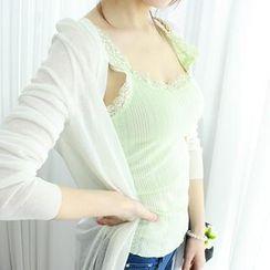 Dodostyle - Lace-Trim Camisole