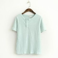 Ranche - Henley Short Sleeve T-Shirt