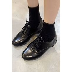 OZNARA - Faux-Leather Oxfords