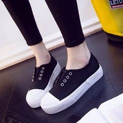 Solejoy - Platform Canvas Sneakers