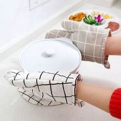 Home Simply - Patterned Oven Glove (1pc)
