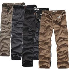 Constein - Plain Cargo Pants