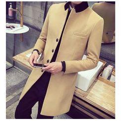 Fisen - Woolen Long Coat
