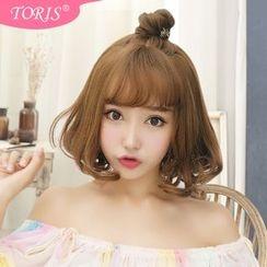 Toris - 空氣劉海內卷梨花頭假短髮