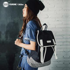 Fourone - Half-Flap Canvas Backpack