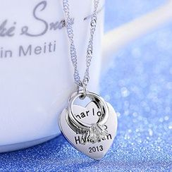 Missy Missy - Heart Pendant Necklace
