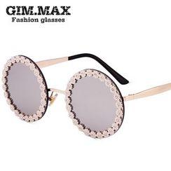 GIMMAX Glasses - Flower Round Sunglasses