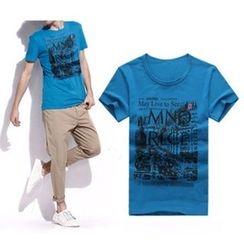 Evzen - Print Short-Sleeve T-Shirt