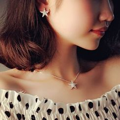 Nanazi Jewelry - Star Earrings / Bracelet / Necklace