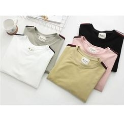 Citree - Striped Long-Sleeve T-Shirt