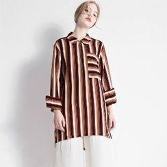 Halona - Stripd Shirt