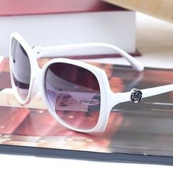 OJOS - Flower-Accent Sunglasses