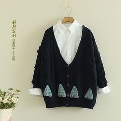Storyland - Cable-Knit Cardigan