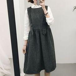 RASA - Midi Pinafore Dress