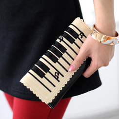 59 Seconds - Piano Keyboard Print Wallet