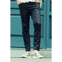 Ohkkage - Straight-Cut Coating Jeans