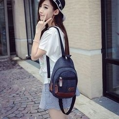 Seok - Convertible Canvas Backpack