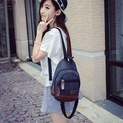 Seok - Convertible Canvas Backpack