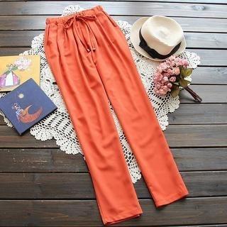 Flower Idea - Drawstring Pants