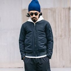 YIDESIMPLE - Detachable-Hooded Jacket