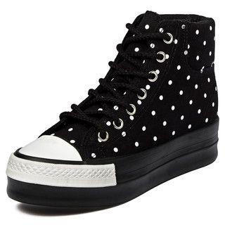 yeswalker - Polka Dot Platform Sneakers