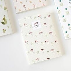BABOSARANG - 2017 Patterned Diary (S)