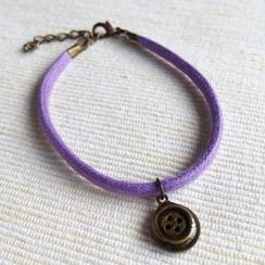 MyLittleThing - Button Cotton Bracelet
