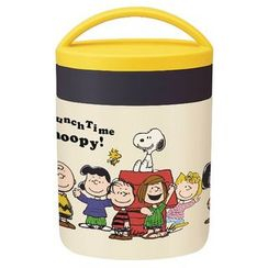 Skater - SNOOPY Thermal Delica Pot (Lunch Time)