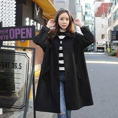 Envy Look - Single-Breasted Wool Blend Coat