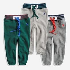 Happy Go Lucky - Kids Drawstring Jogger Pants