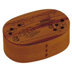 Skater - Winnie the Pooh Wooden Wappa Lunch Box