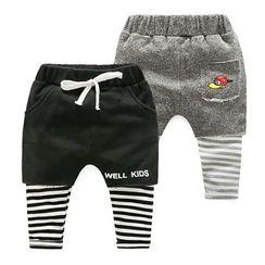 WellKids - Kids Inset Leggings Shorts