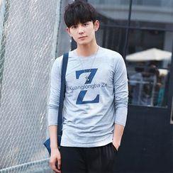 Blitz - Lettering Long-Sleeve T-Shirt