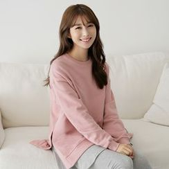 CLICK - Cotton Plain Sweatshirt