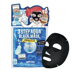 DEWYTREE - 3 Step Aqua Black Mask 10pcs