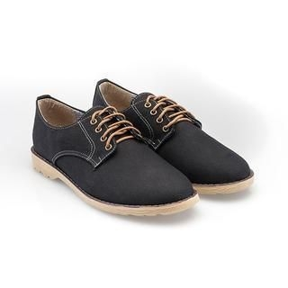 Free Shop - Lace-Up Canvas Oxfords