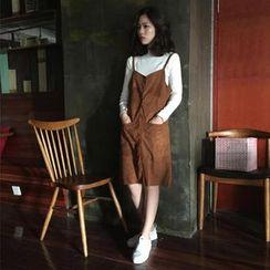 Anyu - Set: Top + Jumper Dress