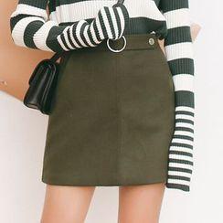 Porta - Knit A-line Skirt