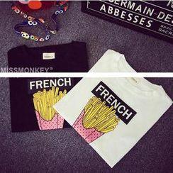 Kikiyo - Short Sleeves Print T-shirt