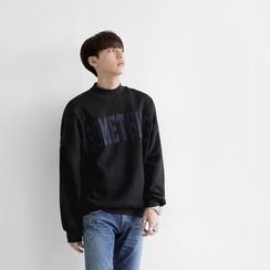 Seoul Homme - Mock-Neck T-Shirt
