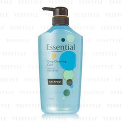 Kao - Essential Deep Cleansing Care Shampoo (Blue)
