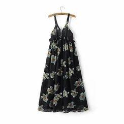 Chicsense - 碎花雪纺沙滩裙