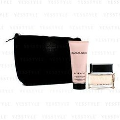 Givenchy - Dahlia Noir Coffret: Eau De Parfum Spray 50ml/1.7oz + Body Milk 100ml/3.3oz + Black Pouch