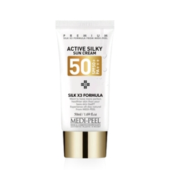 MEDI-PEEL - Active Silky Sun Cream SPF50+ PA+++ 50ml