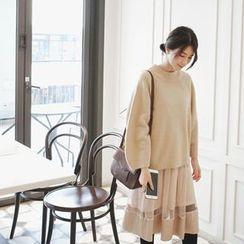 mimi&didi - Sleeveless Midi Tulle Dress