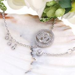 Zundiao - Sterling Silver Skull Bracelet